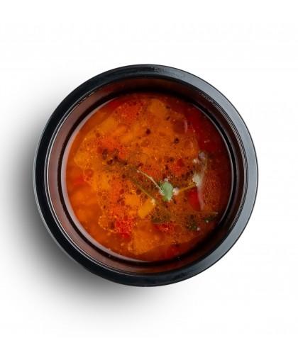 Суп а-ля харчо с машем